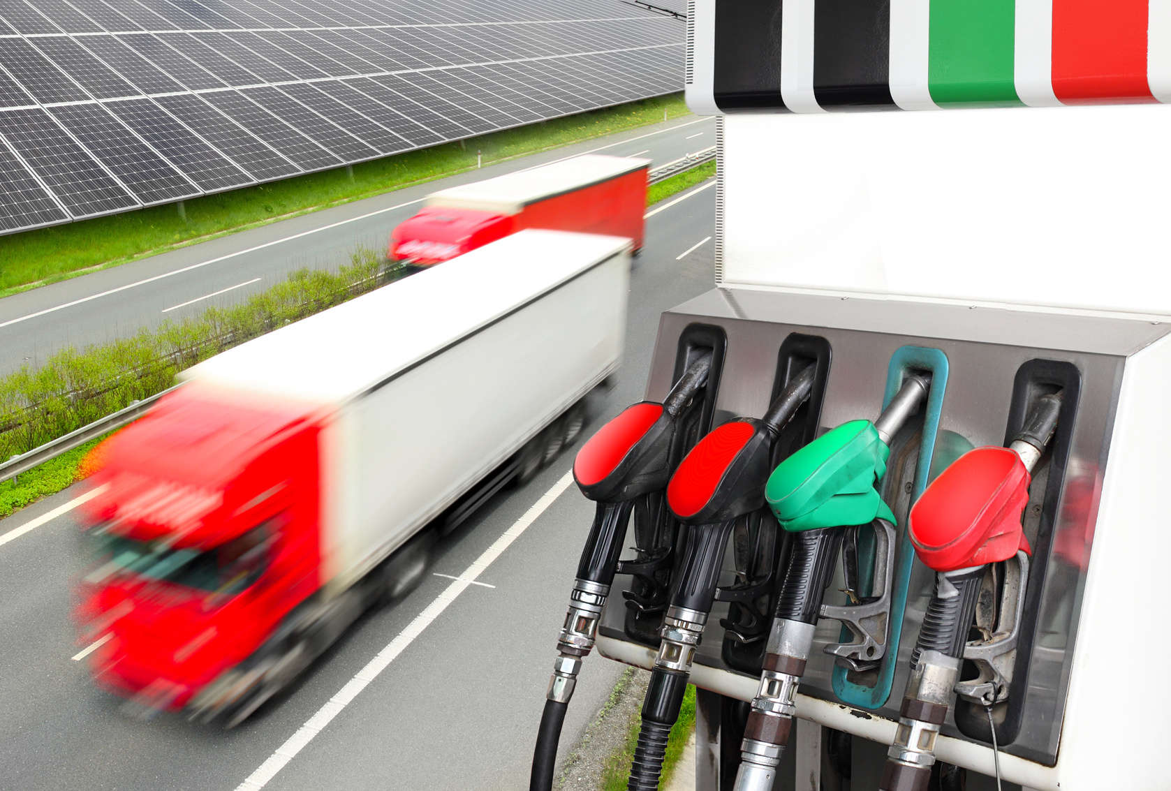 Fuel pumps and truck